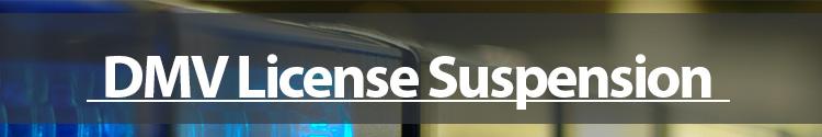DMV License Suspension