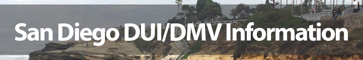 DUI / DMV Information