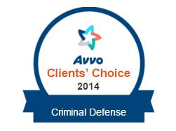 Avvo Seal for Criminal Defense Attorney Sean Leslie